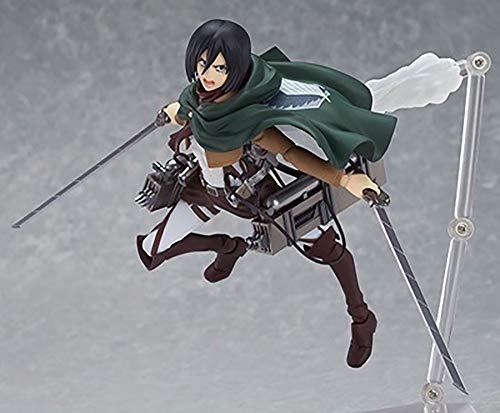 Attack on Titan Figure Ataque a la Figura de Titán Ackerman Levi/Eren Yeager/Mikasa Ackerman Pueden Hacer decoración de Modelos