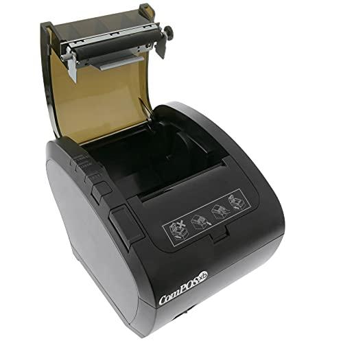 BeMatik - Impresora térmica 80mm POS80250 USB LAN RS232 RJ11 ESC POS TPV