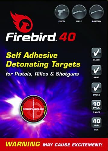 iHunter Firebird 40 - Autoadhesivo - Objetivo de detonación reactivo (paquetes de 10) L542