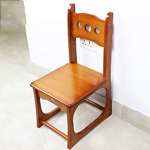YP Taburete para el hogar, Taburete Plegable para la fotografía, Taburete para niños Taburete para niños Vino Tinto de bambú Adulto Hogar Sala de Estar Banco pequeño Sofá Lado Corto Mesa de té