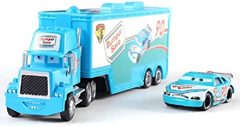 Disney 13 Style Disney Pixar Cars 2 3 Lightning McQueen Mater Jackson Storm Ramirez Truck 1 55 Diecast Metal Alloy Model Toy Car 4