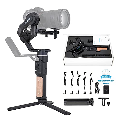 FeiyuTech AK2000C Gimbal Stabilizer Handheld for DSLR Camera Canon 60/70/80D RP,Sony A7C a63/4/5/600,PanasonicGH4/5 Fujifilm Nikon,Optional Handlebar,WiFi/Cable Control OLEDScreen,Official-Authorized