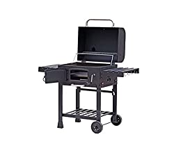 The CosmoGrill XL Charcoal Smoker Barbecue is the perfect outdoor companion for those intimate long weekends or family filled summer parties. Featuring a generously sized grilling area, there's plenty of space to have over 10 burger patties and 10 sa...