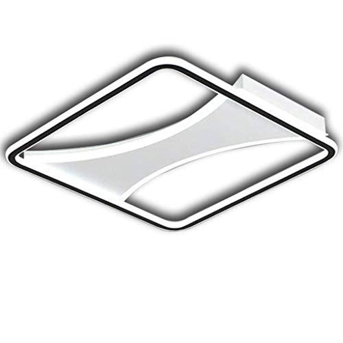 SPNEC Flush LED luz de Techo de acrílico Minimalista Ultrafino de la lámpara, Moderno Pandent de luz for Comedor Dormitorio Sala