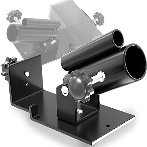 Senshi Japan - Piattaforma per rematore con barra a T per esercizi  Landmine sia per barre olimpiche da 50 mm che per barre da 25mm