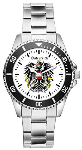 Österreich Geschenk Artikel Idee Fan Uhr 1127
