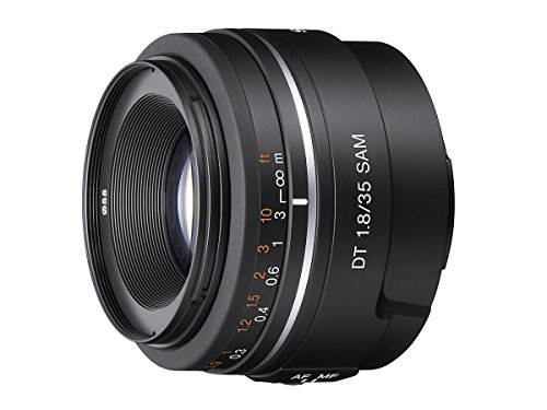 Sony alpha sal35f18 35mm f/1. 8 a-mount wide angle lens (black)