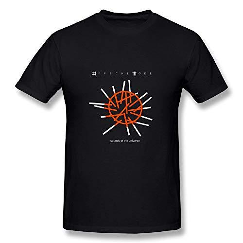 LIONMODE T-Shirt Herren Depeche Mode Sounds of The Universe Rundhals Kurzarm T-Shirt