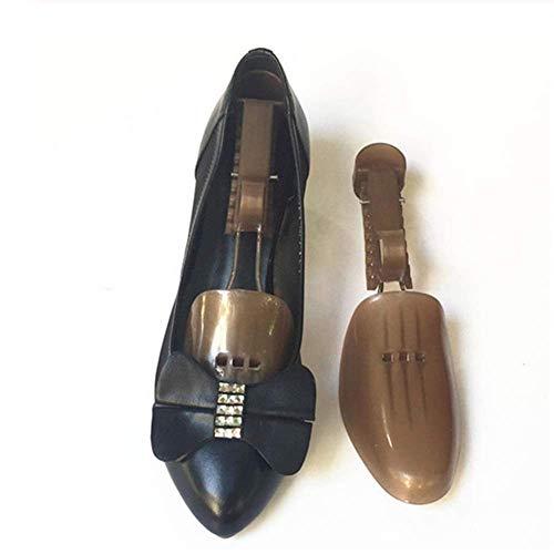 SISHUINIANHUA 1 Paar Kunststoff verstellbare Trage/Boot-Unterstützung Männer und Frauen verhindern, DASS die Falte Falten Deformat Schuhe Bäume,Woman