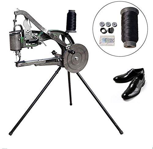 DIY Schuhmacher-Maschine, Maschine Manuell Schuh Mending Nähmaschine Cobbler Schuhmacher Maschine Baumwolle Nylon-Linie Hand Heavy Duty Nähmaschine Schuhmacher