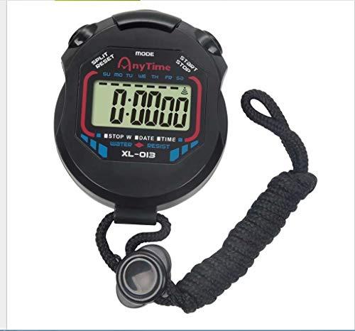 Cronómetro electrónico multifunción con temporizador cronómetro deportivo cronómetro