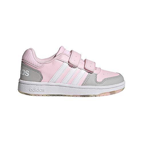 adidas Hoops 2.0 CMF C, Zapatillas de Baloncesto, ROSCLA/FTWBLA/Gridos, 30 EU
