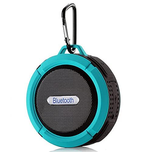 Altavoz Bluetooth C6 Mini Altavoz inalámbrico portátil a Prueba de Agua con mosquetón Subwoofer Sucker Altavoz para teléfono PC