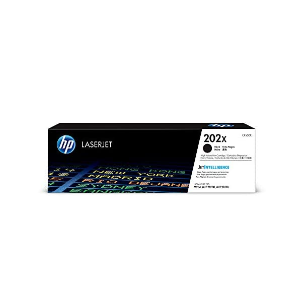 HP 202X | CF500X | Toner Cartridge | Black | High Yield