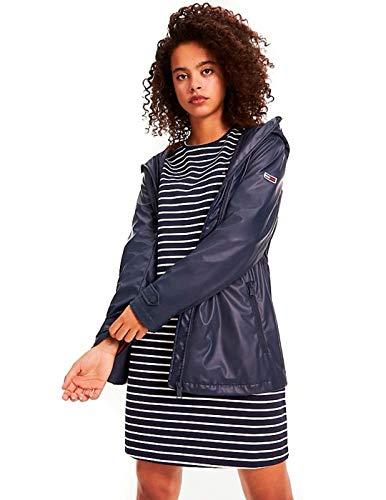 Tommy Hilfiger Jacke für Mädchen, Blau Medium