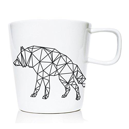 We Love Home - Tasse Mug en Porcelaine 20 cl. Style scandinave Design Origami IV