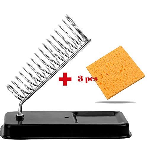 CuiGuoPing - Soportes para soldador eléctrico (con 3 almoha