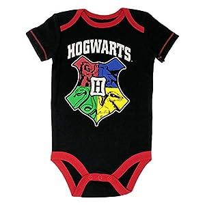 Harry Potter Hogwarts - Body para bebé, diseño del escudo de Hogwarts 9