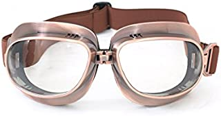 CRG Sports Vintage Aviator Pilot Style Motorcycle Cruiser Scooter Goggle T04 - Parent