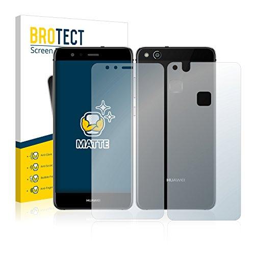 brotect Pellicola Protettiva Opaca Compatibile con Huawei P10 Lite (Anteriore + Posteriore) Pellicola Protettiva Anti-Riflesso (2 Pezzi)