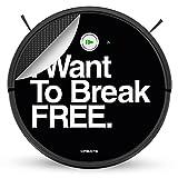 CREATE IKOHS IKOHS Netbot S15 – Robot aspirapolvere professionale 4 in 1 (Netbot s15 / I want to break free)