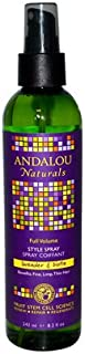 Andalou Naturals Full Volume Style Spray Lavender and Biotin - 8.2 fl oz