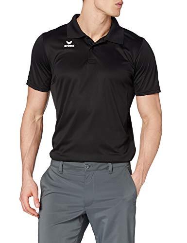 erima Herren Poloshirt Funktions, schwarz, XXXL, 211340