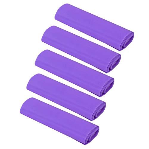 Shipenophy 5pcs Yoga Assistance Yoga Stretch Strap Yoga Tension Belt para Adelgazar y Esculpir(Purple)