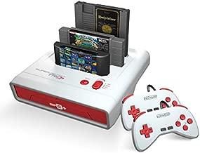 Retro-Bit Super Retro Trio HD Plus 720P 3 in 1 Console System - HDMI Port - for Original NES/SNES, Super Nintendo and Sega Genesis Games - Red/White