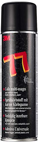 3MTM Allzweck-Sprühkleber 77 Transparent, 500 ml, 2