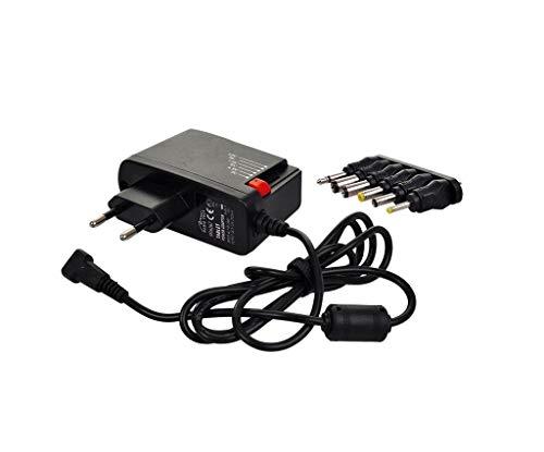 Solight Universal Netzteil 600ma, Stabilisiert, Austauschbare Stecker, Elektrische Haushaltsgeräte, Stromversorgung, Universal-Adapter, Da 24