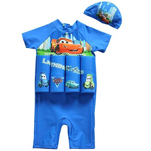 AMIYAN Kinder Jungen Float Suit Bojen-Badeanzug Niedlich Badeanzug mit Schwimmhilfe Training Swimwear für Strand Baden (Höhe 80-90cm)