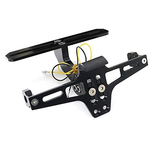 for S1000RR S1000R S1000XR HP4 Hinten Kennzeichenhalter Fender Eliminator Kit Kennzeichenhalter Bracket (Color : Black)