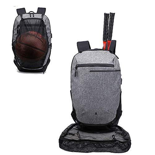 SHRAY Waterproof Large Capacity Motorcycle Helmet Holder/Cycling Helmet Storage/Hiking Helmetcatch Bag/Backpack Also Fit Basketball Football Soccer Backpack Black Grey