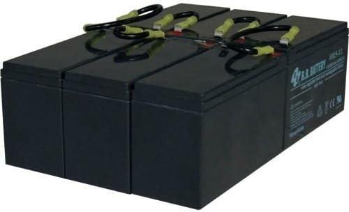 TRIPP LITE RBC96-3U UPS REPLACEMENT BATTERY 3U 1 SET OF 6 72VDC SMART ONLINE