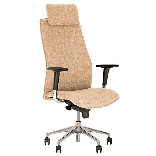 Solo Kindersitz Typ Richtung Design Bürostuhl, neigbar drehbar Ergonomische Unterstützung Kopf REGLABLE in der Höhe von Designer Hilary Birkbeck.