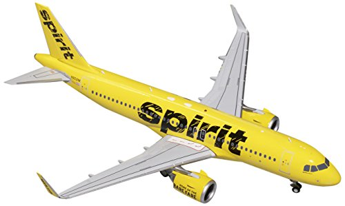 Price comparison product image GEMINI Gemini200 Spirit Airlines A321neo N902NK 1:200 Scale Model Airplane Die Cast Aircraft