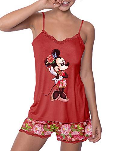 Disney Pijama Minnie Mujer Verano Tirantes