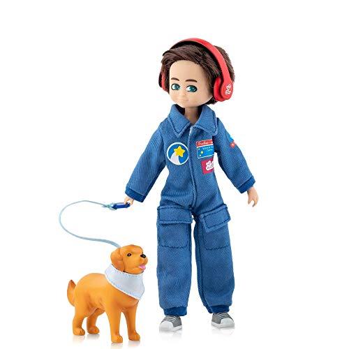 Lottie Loyal Companion LT128 Astronauten-Puppe, Weltraum-Puppe, Stamm-Puppe und Wissenschaftspuppe in einem!