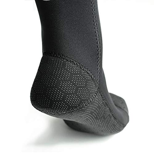 PAWHITS Wetsuit Socks 3mm Neoprene Socks Thermal Anti-slip Diving Socks for Men Women Diving Snorkeling Swimming Surfing Sailing Kayaking