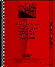 International Harvester Cub Cadet 782 Lawn & Garden Tractor Operators Manual