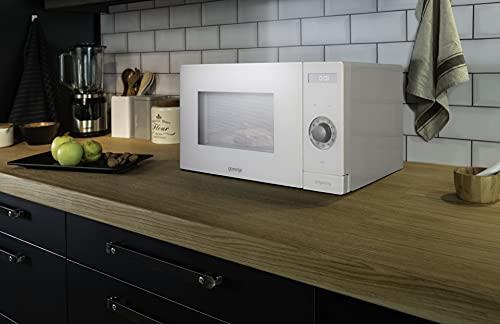 Gorenje MO 235 SYW Mikrowelle mit Grillfunktion/ChildLock/AquaClean/FullTouch/SmartDisplay/Auftaufunktion/ 9 Automatikprogramme/ 5 Leistungsstufen/ 23l/ 1200 W/Edelstahl