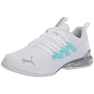 PUMA Women's Riaze Prowl Sneaker, White-Gulf Stream, 8
