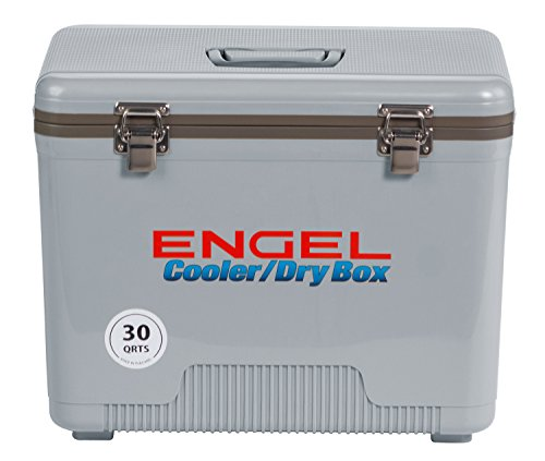 Engel Cooler/Dry Box 30 Qt - Silver
