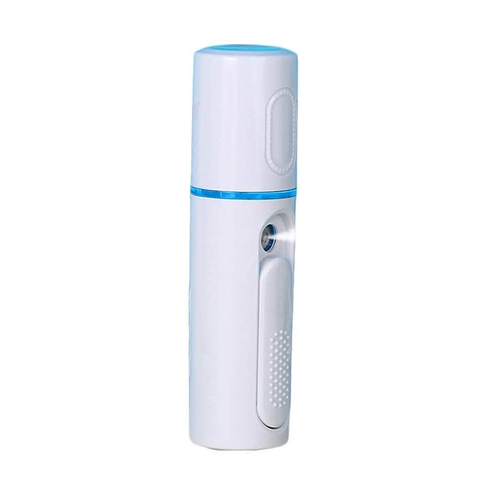 それるその結果ささいな美顔器 噴霧式 ミニ携帯 ハンディ 美顔スプレー保湿 美白顔用加湿器 フェイススチーマー 補水美容器 小型 ナノミスト USB
