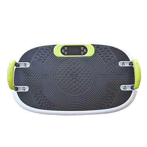 Topashe Plataforma Vibración Pantalla LCD,Máquina de Adelgazamiento por vibración, máquina de batido de pérdida de Peso Perezosa-B,Plataforma Vibración Motor Silencioso