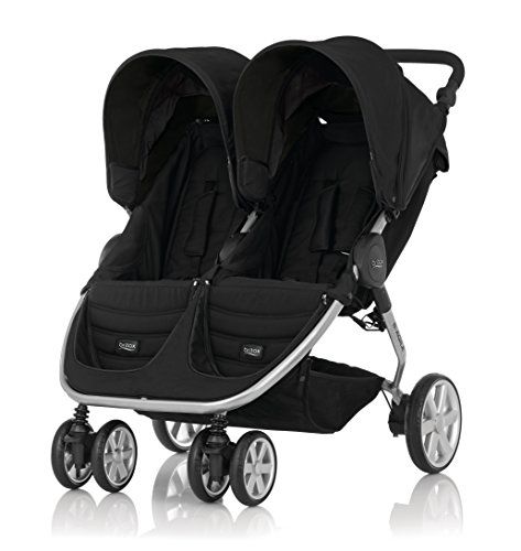 britax-romer 2000023161-Agile Double Zwillings talliert, Cosmos Black