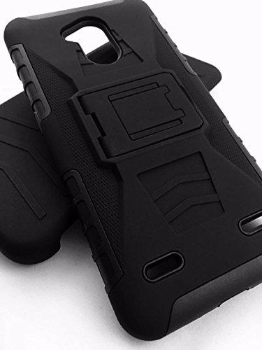 Desconocido Funda Protector Uso Rudo con Clip ZTE V6 Plus