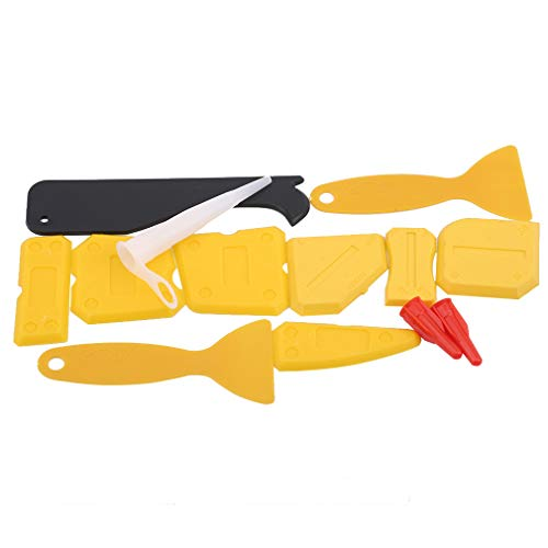 unknow Growrak Rasierklinge Kratzset Werkzeug Entferner Schaber Werkzeug Für Auto Window Tint Vinyl Werkzeug Anwendung, Gelb