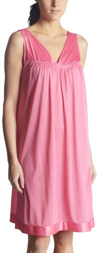 Exquisite Form Womens Colortura Short Gown, Perfumed Rose, Large